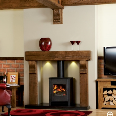 Focus Fireplaces Oak Beam