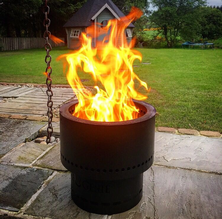 New Wood Pellet Garden Fire Pit On Sale Speyside Stoves Wood Fired Electric Gas Stoves Inverurie Keith
